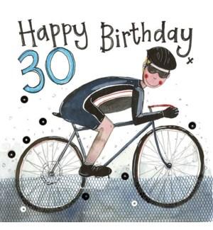 ABDB/30 Year Old Cyclist