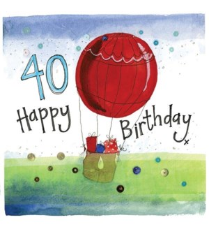 ABDB/40 Year Old Balloon