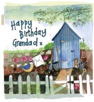 RBDB/Grandad Garden Hut