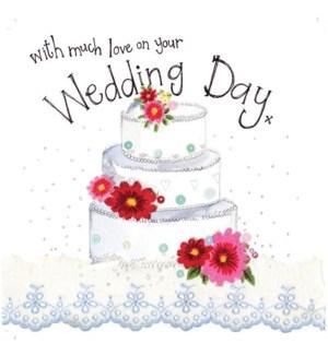 WDB/Three Tier Wedding Cake
