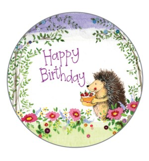 GIFTTAGS/BIRTHDAY HEDGEHOG