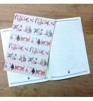 NOTEBOOK/Charismatic Cats LG