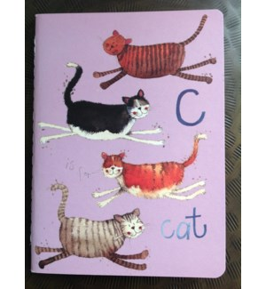NOTEBOOK/C Is For Cat  M