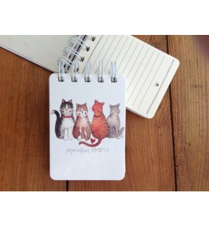 NOTEPAD/Marvellous Moggies