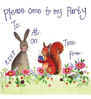 NOTECARDS/Rabbit & Squirrel IN