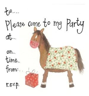 NOTECARDS/Horse Invite