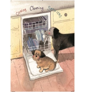 TEATOWEL/Canine Cleaning