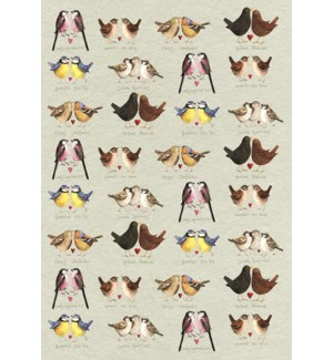 TEATOWEL/Beautiful Birds