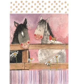 TEATOWEL/Horse Whispers