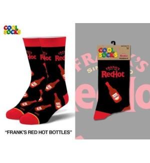 SOCKS/Franks Red Hot Bottles*