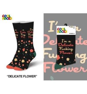 SOCKS/Delicate Flower