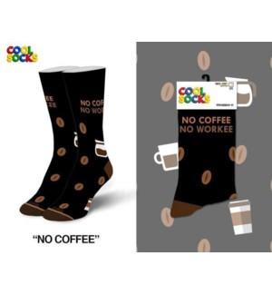 SOCKS/No Coffee No Workee