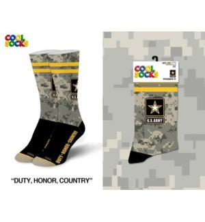 SOCKS/ Duty Honor Country