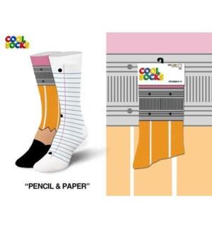 SOCKS/ Pencil & Paper