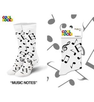 SOCKS/ Music Notes
