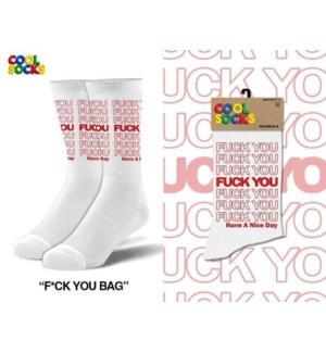 SOCKS/Fuck You Bag*