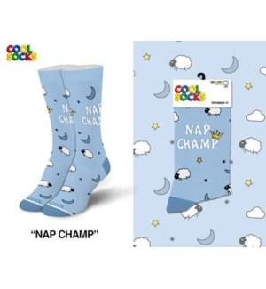 SOCKS/ Nap Champ