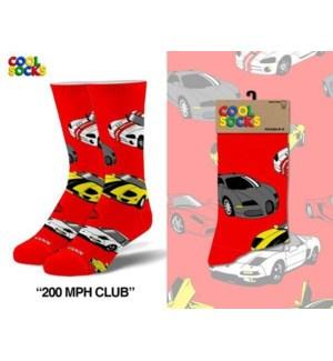 SOCKS/200 MPH Club*