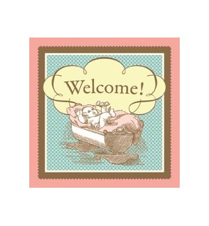 ENC/Welcome Baby Cradle