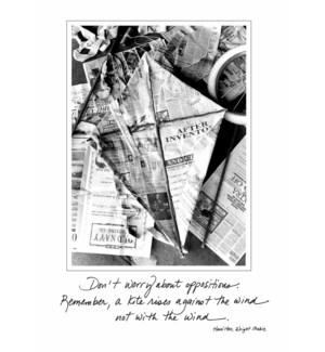 GB/Newspaper kite