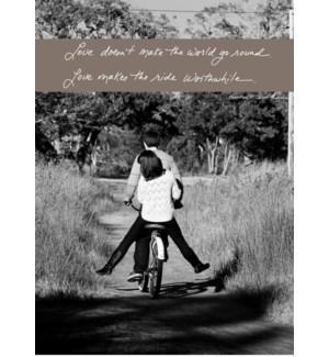 WD/couple on bike