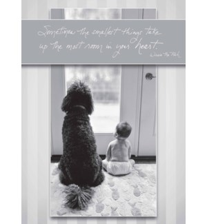 NB/Baby Sitting With Big Dog