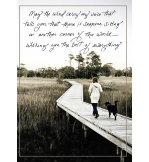 TH/Woman & dog