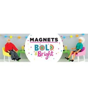 POP/Bold & Bright Mag Topper
