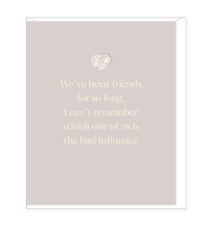 FRB/We've Friend So Long