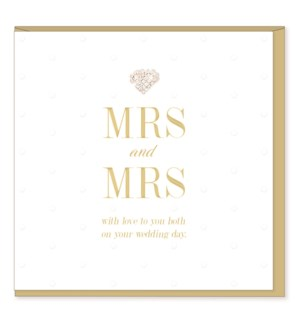 WDB/Mrs & Mrs Wedding Day