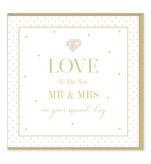 WDB/Love To The New MR & MRS