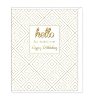 BDB/Hello, Happy Birthday