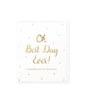 WDB/Best Day Ever, Wedding