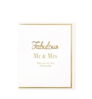 WDB/Fabulous Mr & Mrs