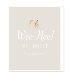 COB/Woo-Hoo, Congratulations