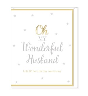 ANB/Happy Anniversary Husband