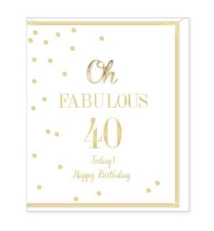 ABDB/Birthday Age 40