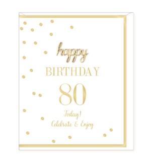 ABDB/Birthday Age 80