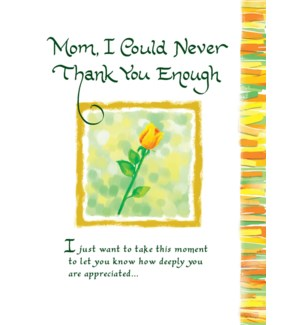 MD/Mom I Could Never Thank You