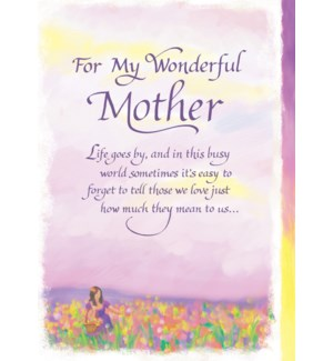 MD/For My Wonderful Mother