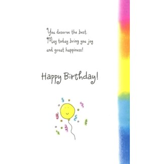 BD/WISHING YOU THE BEST