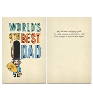 FD/World's 9th Best Dad