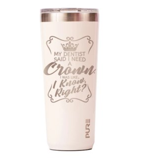 TUMBLER/Dentist Crown Cream 22