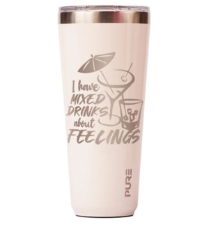 TUMBLER/Mixed Drinks Cream 32