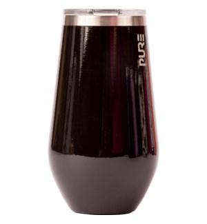 WINE/Stemless Wine Black 16oz