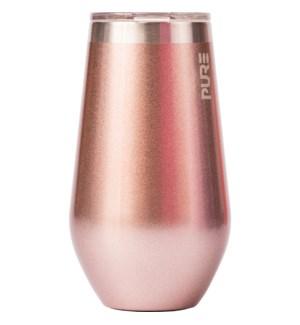 WINE/Stemless Wine R Gold 16oz