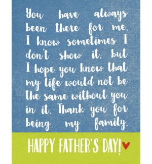 FD/Being My Family Dad