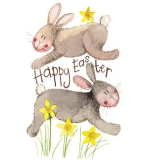 EANOTE/Happy Easter Rabbits