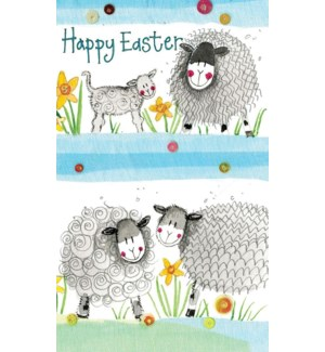 EANOTE/Happy Easter Sheep