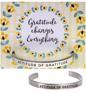 QUOTECUFF/Attitude on Card